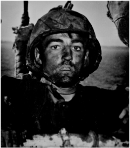 WWII Marine after Eniwetok