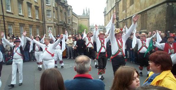 Cotswold Morris Dancers