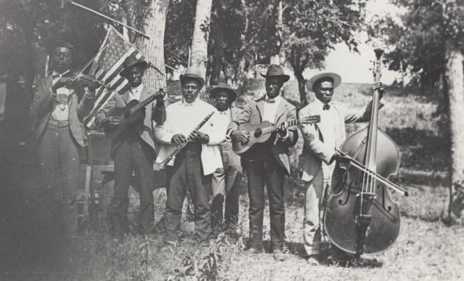 Juneteenth band, 1900