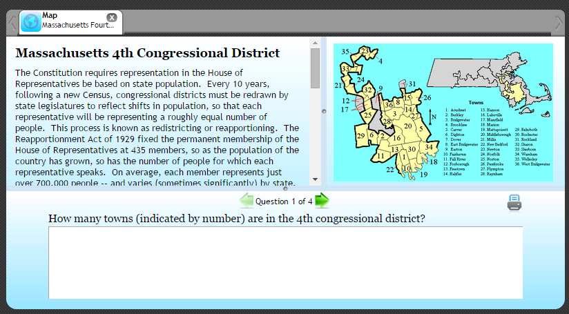 Teaching Gerrymandering