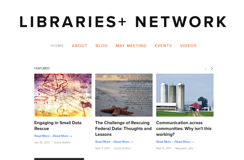 Resource Highlight: Libraries+Network
