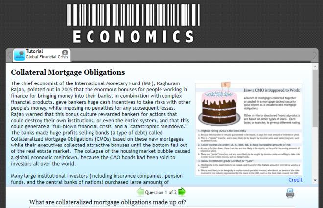 page explains CMOs, includes graphic